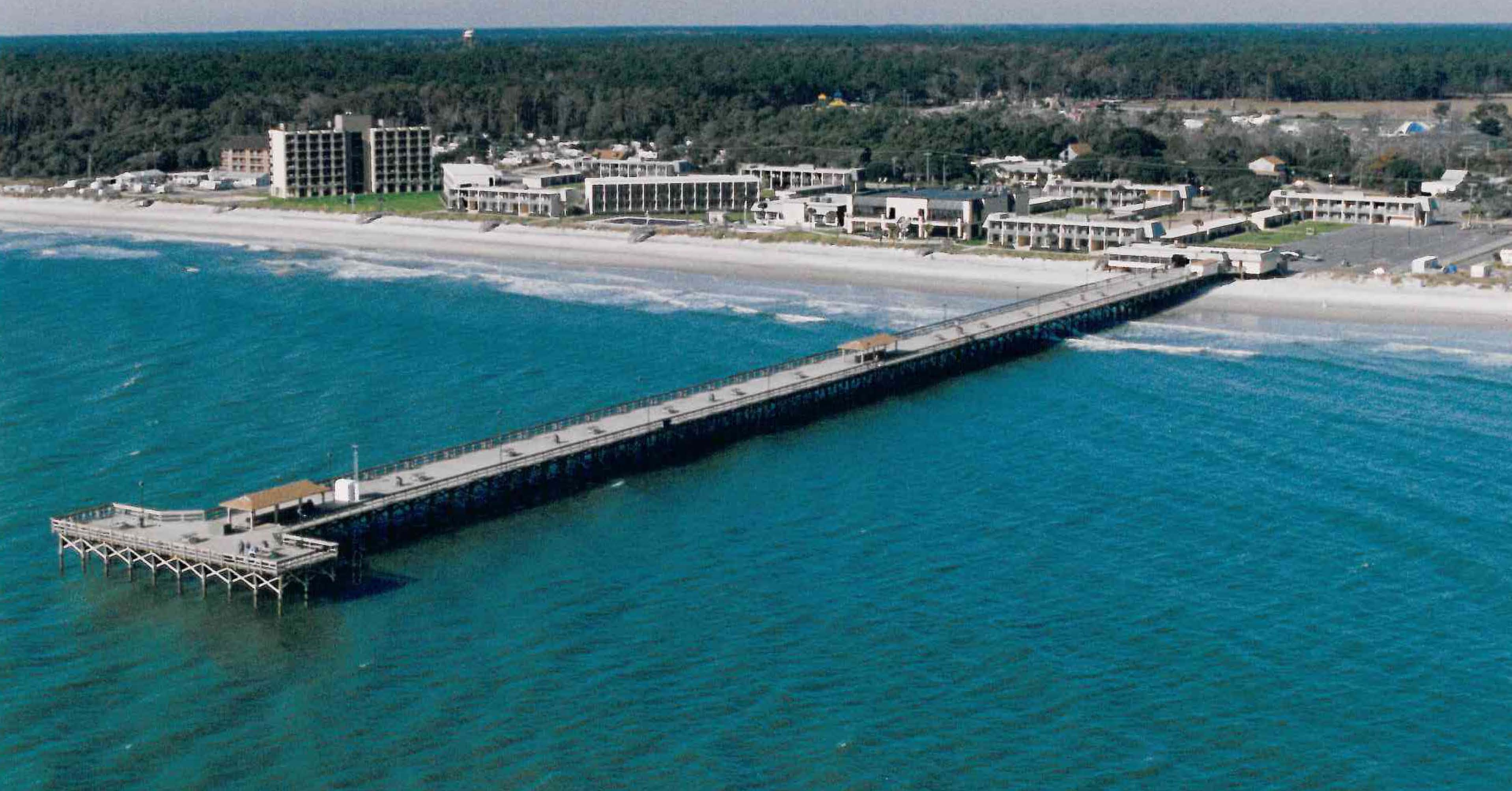 Civil engineering for Fishing piers in myrtle beach